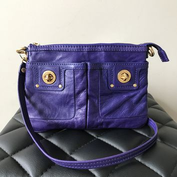 Marc by Marc Jacobs Blue Small Crossbody Bag