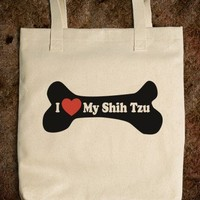 I Love My Shih Tzu - Tote Bag