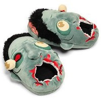 ThinkGeek - Zombie Plush Slippers (One size fits most): Toys & Games