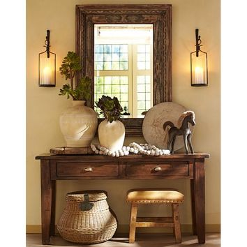 CAMDEN RECLAIMED WOOD CONSOLE TABLE