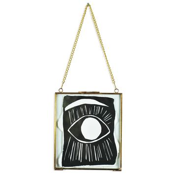 Small Framed Eye by Kate Roebuck
