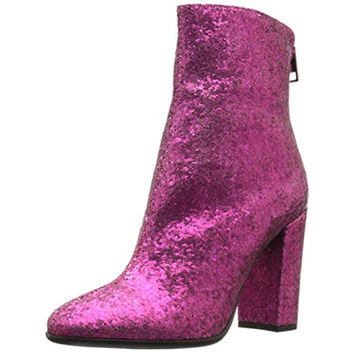 Just Cavalli Womens Glitter Ankle Boots