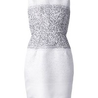 Narciso Rodriguez Fitted Jacquard Dress - - Farfetch.com