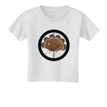 Turkey Trouble - Thanksgiving Funny Toddler T-Shirt