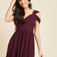Graceful Greetings A-Line Dress | Mod Retro Vintage Dresses | ModCloth.com