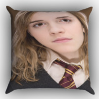 Harry Potter Hermione  X1390 Zippered Pillows  Covers 16x16, 18x18, 20x20 Inches