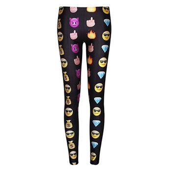 Buttery Soft Emoji Leggings