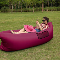 260*70cm Fast Inflatable Lazy bag Air Sleeping Bag