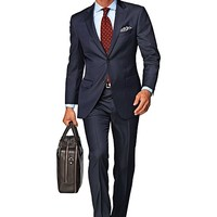 Suit Navy Pinstripe Napoli P1105i-jd | Suitsupply Online Store