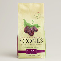 Sticky Fingers Bakeries Scones Mix, Raspberry, Set of 6 - World Market