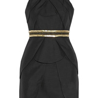 Sass & bide - The Good Life embellished textured-crepe mini dress