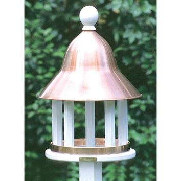 Lazy Hill Farm Designs 42513 Lazy Hill Bell Bird Feeder with Copper Roof