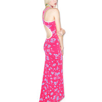 Mamadoux Sport Gown Pink/Blue One