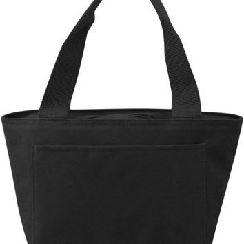 Insulated Cooler Tote Lunch Bag (White) - CASE OF 24