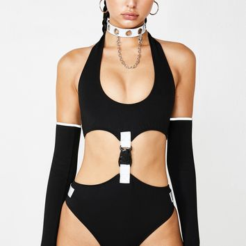 Can't Be Copied Bodysuit Set