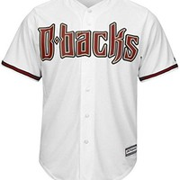 Arizona Diamondbacks MLB Majestic Mens Cool Base Replica Jersey White Big & Tall Sizes