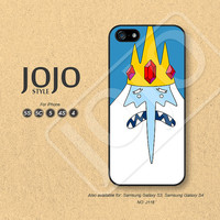iPhone 5 Case iPhone 5c Case iPhone 4 Case iPhone 5s Case iPhone 4s Case, Adventure Time Ice King, Phone Cases Phone Covers - J118