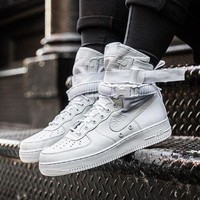 """Nike Special Field Air Force 1 """"Triple White"""" Sneakers White"""