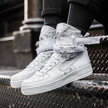 "Nike Special Field Air Force 1 ""Triple White"" Sneakers White"