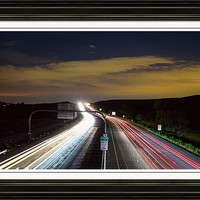 Boulder To Denver Highway 36 Express Lane Framed Print