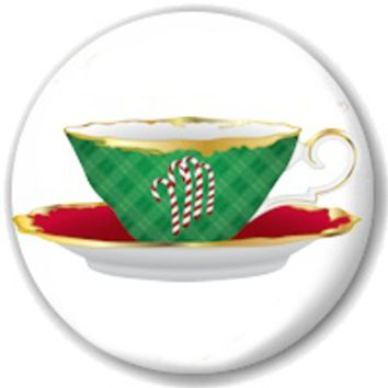 Christmas Tea Cup Teapot Magnet Favors in Gift Box