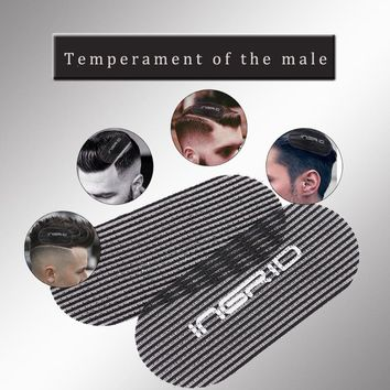 Barber Acessories Bangs Paste Posts Hair Sticker Gripper Barber Grippers Men's Hair Holder Black Color For Hair Styling Cutting