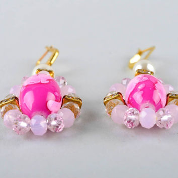 Homemade jewelry earrings for ladies cute earrings designer accessories