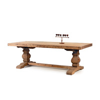 Go Home Swinderby Trestle Dining Table - 11604