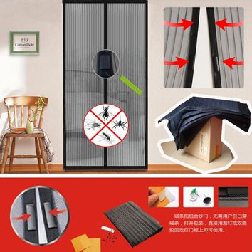 Mosquito net curtain magnets door Mesh Insect Fly Bug Mosquito Door Curtain Net Netting Mesh Screen Magnets