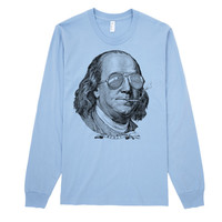Ben Franklin Now This Is A Political Party Long Sleeve Tee