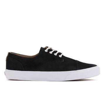 Dillon CA 'Pig Suede' (Black/White)