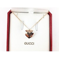 GUCCI Jewelry Jewelry Pendant Pendant Love Pendant Necklace