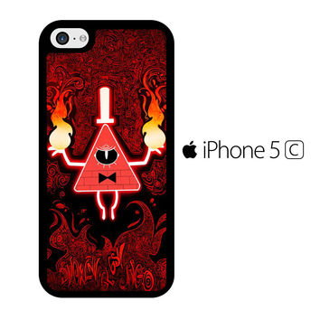 Gravity Falls Bill Cipher Angry iPhone 5C Case