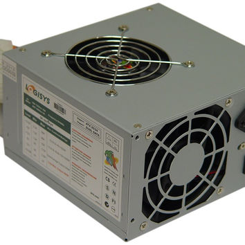 Logisys Corp. 480W 240-Pin Dual Fan 20+4 ATX Power Supply