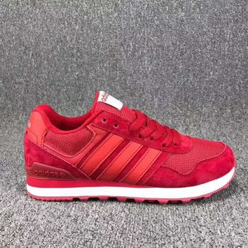 One-nice™ Adidas Women Fashion Trending Running Sports Shoes Red I-CSXY