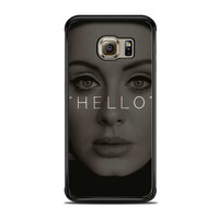 Hello Adele Potrait Face Actress Samsung Galaxy S6 Edge Case