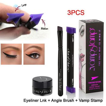3Pcs Eyeliner Wing Style Kitten Stamp Tool Day-First™