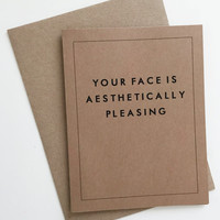 Your Face Greeting Card