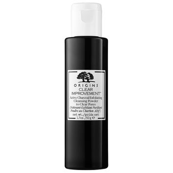 Sephora: Origins : Clear Improvement™ Active Charcoal Exfoliating Cleansing Powder to Clear Pores : face-wash-facial-cleanser