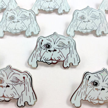 Falkor the Luck Dragon Hard Enamel Pin