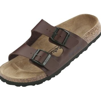 "Betula licensed by Birkenstock. Model ""Boogie"" in ""White""."