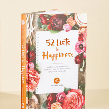 52 Lists for Happiness Journal | Mod Retro Vintage Books | ModCloth.com