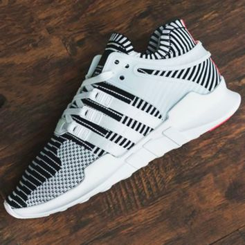 "Fashion ""Adidas"" Equipment EQT Support Boost Casual Sports Shoes gray-white H-AA-SDDSL-KHZHXMKH"