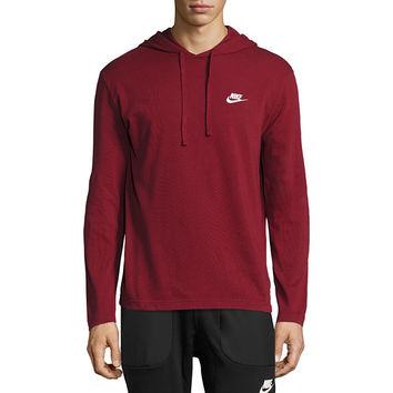 Nike Long Sleeve Cotton Hoodie - JCPenney