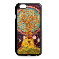 Love Tree Sacred Geometry Art iPhone 6 case
