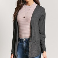 Heathered Knit Cardigan
