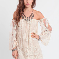 Light As A Feather Embroidered Dress