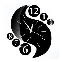 Wall Clock 3D Sticking Decoration