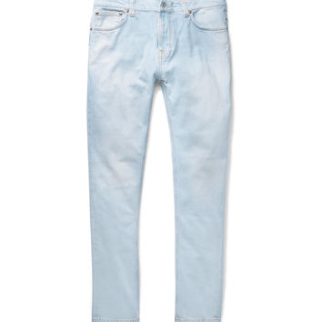 Nudie Jeans - Brute Knut Slim-Fit Tapered Organic Stretch-Denim Jeans