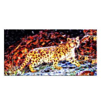 Cheetah On the Prowl Canvas Wall Art Print